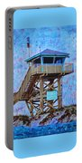 To The Beach Portable Battery Charger by Deborah Boyd