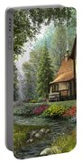 Toadstool Cottage Portable Battery Charger