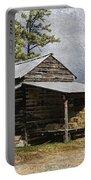 Tobacco Barn In North Carolina Portable Battery Charger