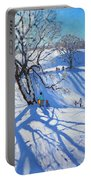 Tobogganers  Chatsworth Portable Battery Charger by Andrew Macara