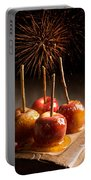 Toffee Apples Group Portable Battery Charger by Amanda Elwell