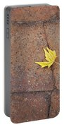 Together Yellow Maple Leaves Portable Battery Charger
