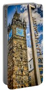 Tollbooth Clock Tower Glasgow Portable Battery Charger