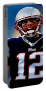 Tom Brady Back To The Super Bowl Portable Battery Charger