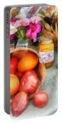 Tomatoes And Peaches Portable Battery Charger