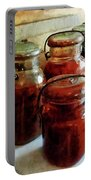 Tomatoes And String Beans In Canning Jars Portable Battery Charger