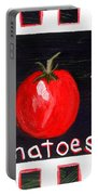 Tomatoes Market Sign Portable Battery Charger