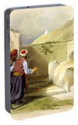 Tomb Of Joseph At Shechem 1839 Portable Battery Charger