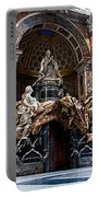 Tomb Of Pope Alexander Vii By Bernini Portable Battery Charger
