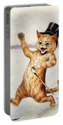 Top Cat Portable Battery Charger by Louis Wain