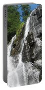 Top Part Of Silver Falls Portable Battery Charger