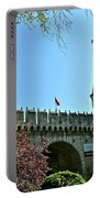 Topkapi Palace Wall And Gate In Istanbul-turkey Portable Battery Charger