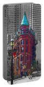 Toronto Flat Iron Building Version 2 Portable Battery Charger