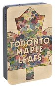 Toronto Maple Leafs Hockey Poster Portable Battery Charger