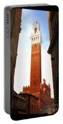Torre Del Mangia Siena Portable Battery Charger