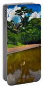 Tortuguero River Canals Portable Battery Charger by Gary Keesler