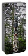 Totem Pole Of Southeast Alaska Portable Battery Charger