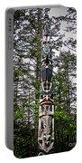 Totem Pole Of Southeast Alaska Portable Battery Charger