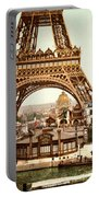 Tour Eiffel And Exposition Universelle Paris Portable Battery Charger