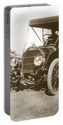 Touring Car On The Road California 1906 Portable Battery Charger