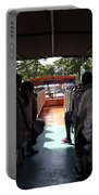 Tourists On The Sight-seeing Bus Run By The Hippo Company In Singapore Portable Battery Charger