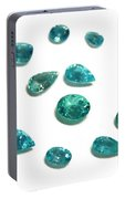 Tourmaline Paraiba Portable Battery Charger