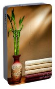 Towels And Bamboo Portable Battery Charger