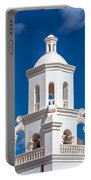 Tower At Mission San Xavier Del Bac Portable Battery Charger
