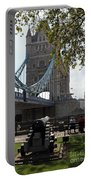 Tower Bridge In The City Of London Portable Battery Charger