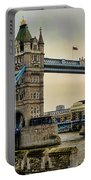 Tower Bridge On The River Thames Portable Battery Charger