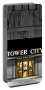 Tower City In Cleveland Ohio Portable Battery Charger