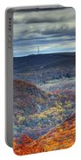 Tower In The Distance Portable Battery Charger
