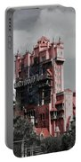 Tower Of Terror  In Color Portable Battery Charger