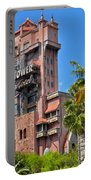 Tower Of Terror Portable Battery Charger by Thomas Woolworth