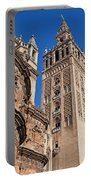 Tower Of The Seville Cathedral Portable Battery Charger
