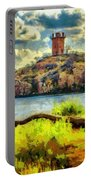 Tower On The Bluff Portable Battery Charger