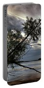 Tower Rock In The Mississippi River Portable Battery Charger