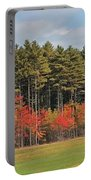 Towering Evergreens Portable Battery Charger