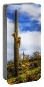 Towering Saguaro Portable Battery Charger