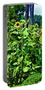 Towering Sunflowers Portable Battery Charger