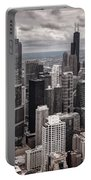 Towers Of Chicago Portable Battery Charger