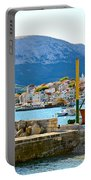 Town Of Baska Island Krk Portable Battery Charger
