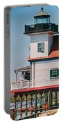 Town Of Edenton Roanoke River Lighthouse In Nc Portable Battery Charger