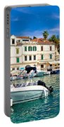 Town Of Hvar Waterfront View Portable Battery Charger