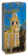 Town Of Novalja Church Pag Island Portable Battery Charger
