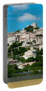 Town On A Hill, D51, Sault, Vaucluse Portable Battery Charger