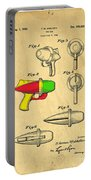 Toy Ray Gun Patent II Portable Battery Charger by Edward Fielding