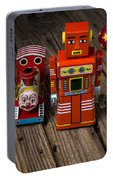 Toy Robot And Train Portable Battery Charger