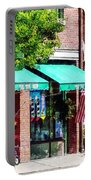 Toy Shop Bristol Ri Portable Battery Charger by Susan Savad
