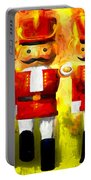 Toy Soldiers Nutcracker Portable Battery Charger by Bob Orsillo
